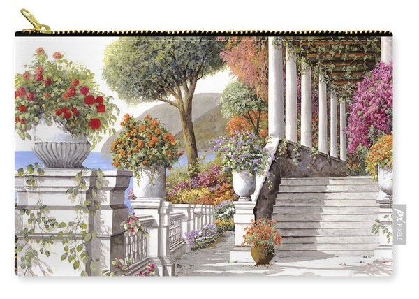 four seasons-summer on lake Como Carry-all Pouch
