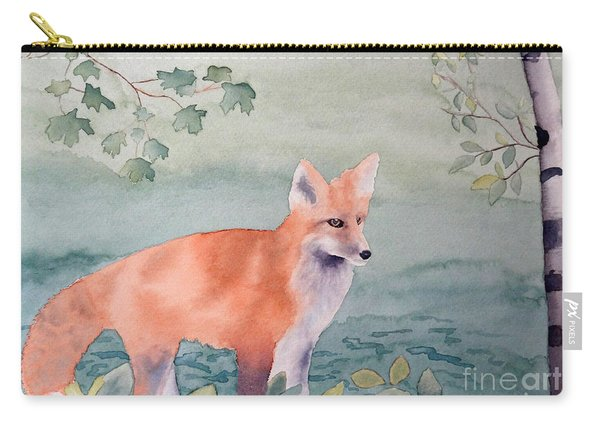 Fox And Birch Carry-all Pouch