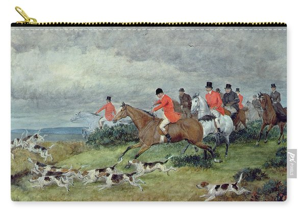 Fox Hunting In Surrey Carry-all Pouch