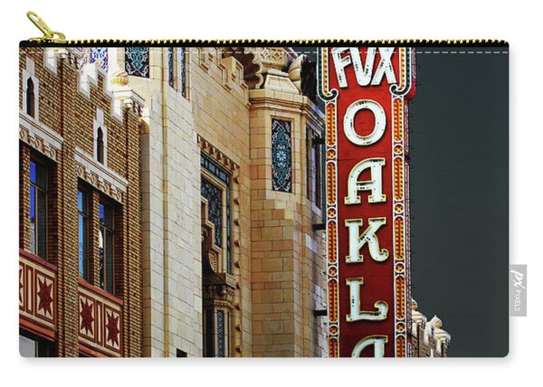Fox Theater . Oakland California Carry-all Pouch