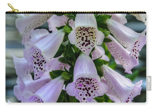 Foxglove At Waters Edge Carry-all Pouch