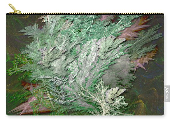 Fractal Ferns Carry-all Pouch