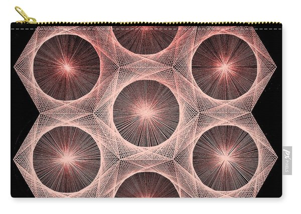 Fractal Fusion Hw Equals Mc Squared Carry-all Pouch