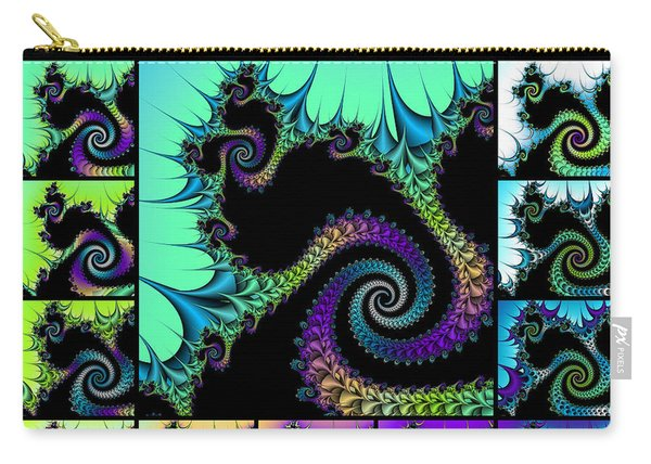 Fractal Quilt 5  Carry-all Pouch