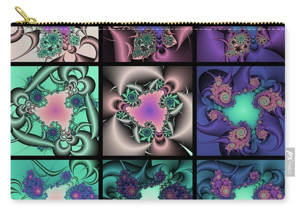 Fractal Quilt 9  Carry-all Pouch