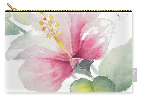 Fragrant Hibiscus II Carry-all Pouch