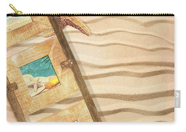 Frame With Postcards Carry-all Pouch