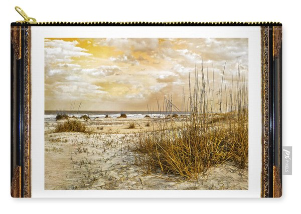 Framed Dunes Carry-all Pouch