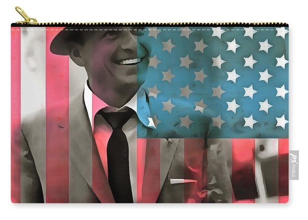 Frank Sinatra American Legend Carry-all Pouch