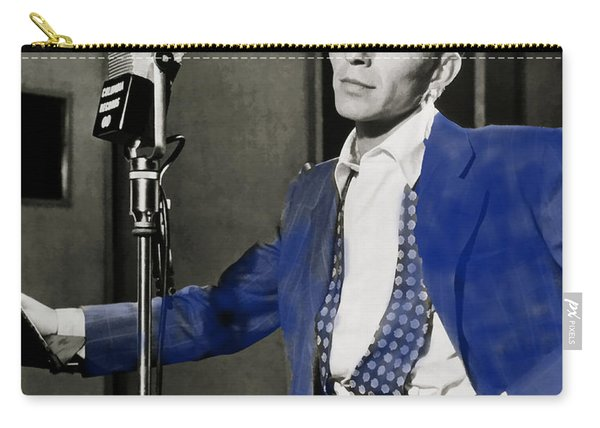 Frank Sinatra - Old Blue Eyes Carry-all Pouch