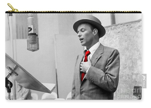 Frank Sinatra Painting Carry-all Pouch