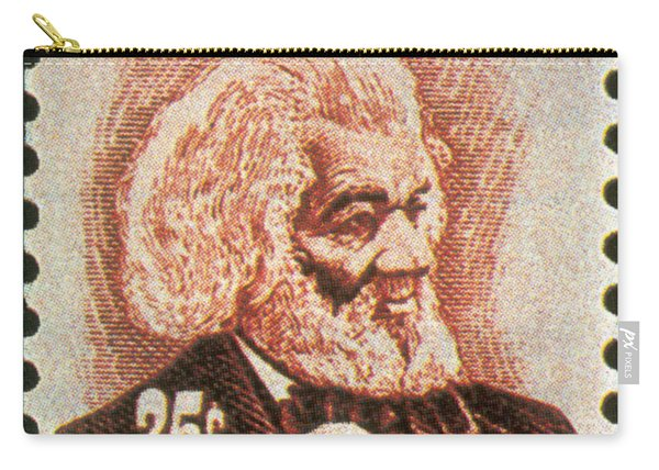Frederick Douglass, U.s. Postage Stamp Carry-all Pouch