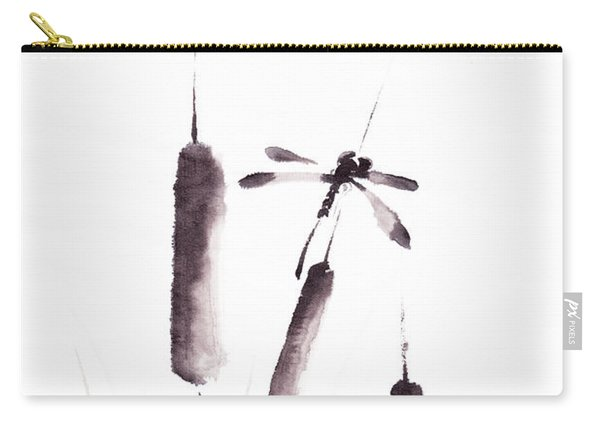 Free As The Dragonflies Carry-all Pouch