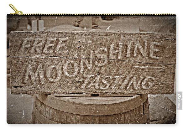 Free Moonshine Carry-all Pouch