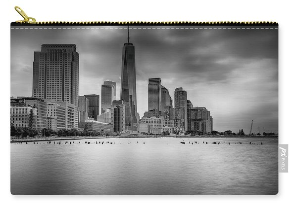 Freedom In The Skyline Carry-all Pouch
