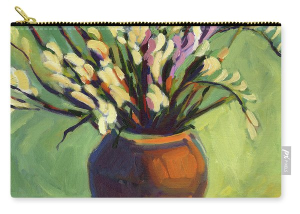 Freesias Carry-all Pouch
