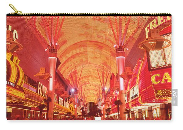 Fremont St Experience, Las Vegas, Nv Carry-all Pouch