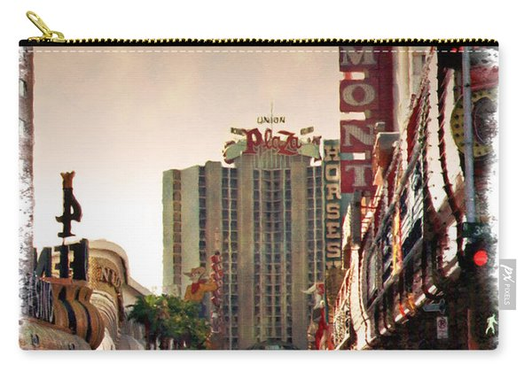 Fremont Street 1994 - Impressions Carry-all Pouch