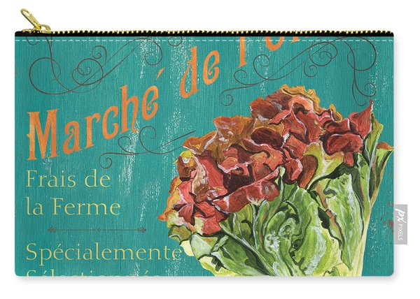 French Market Sign 3 Carry-all Pouch