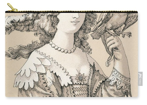 French Seventeenth Century Costume Carry-all Pouch