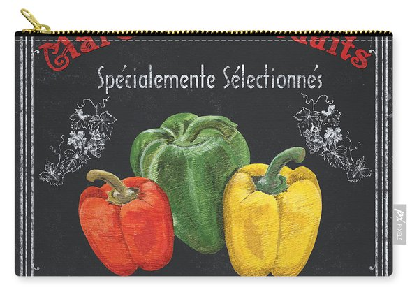 French Vegetables 3 Carry-all Pouch
