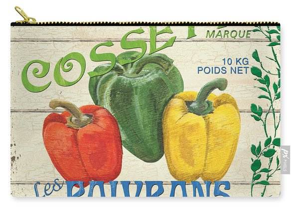 French Veggie Sign 4 Carry-all Pouch
