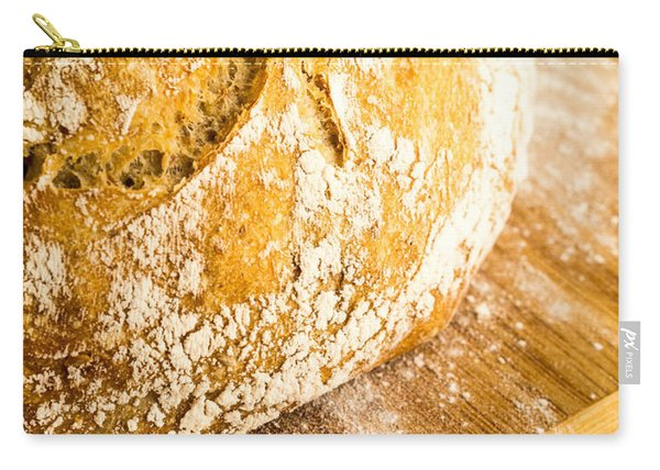 Fresh Baked Loaf Of Artisan Bread Carry-all Pouch