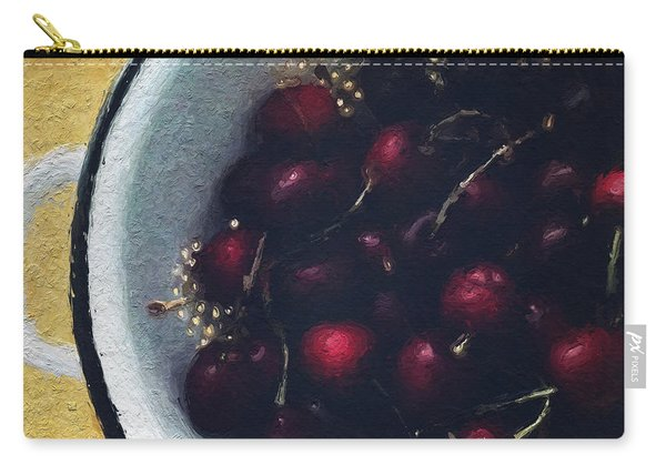 Fresh Cherries Carry-all Pouch