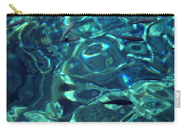 Carry-all Pouch featuring the photograph Fresh Clean Santorini Ocean  Water by Colette V Hera  Guggenheim