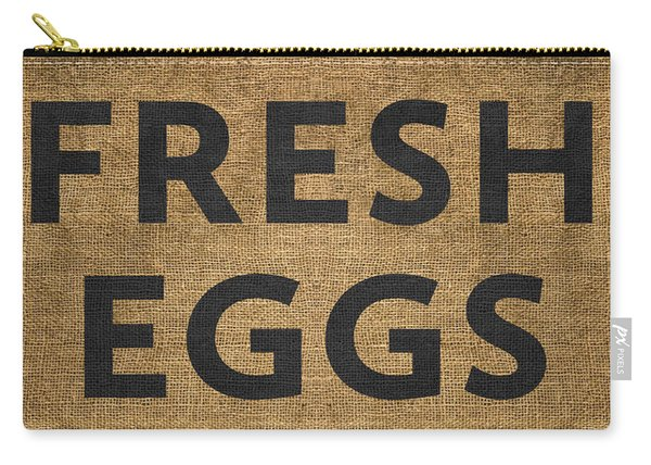 Fresh Eggs Carry-all Pouch