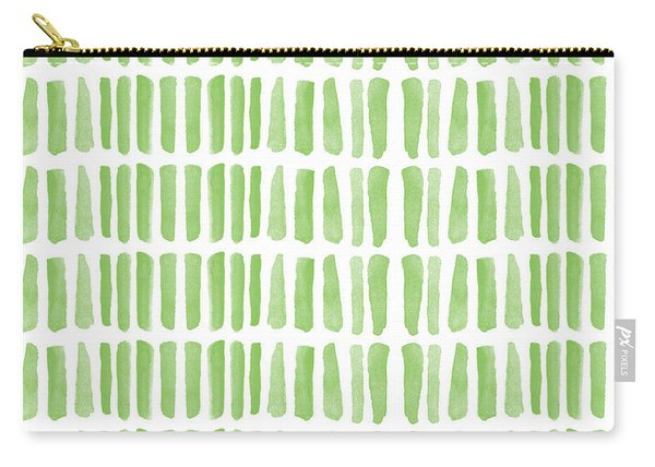 Fresh Grass- Abstract Pattern Painting Carry-all Pouch