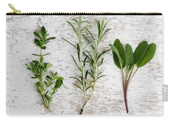 Fresh Herbs Carry-all Pouch