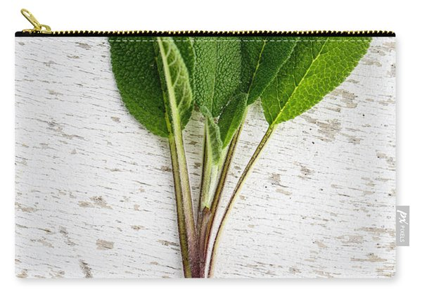 Fresh Sage Carry-all Pouch