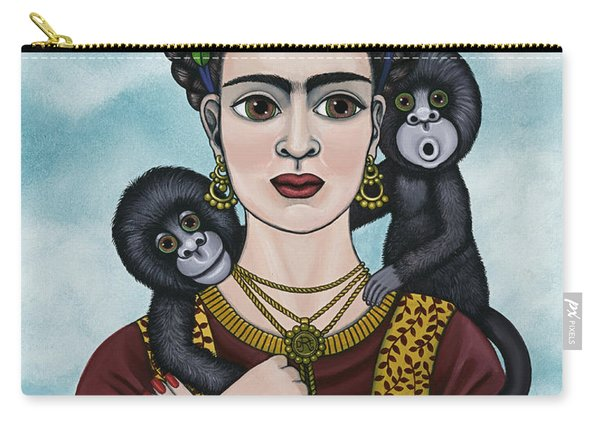 Frida In The Sky Carry-all Pouch