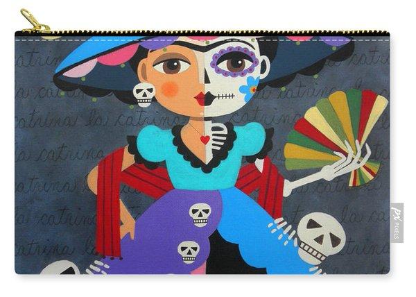 Frida Kahlo La Catrina Carry-all Pouch