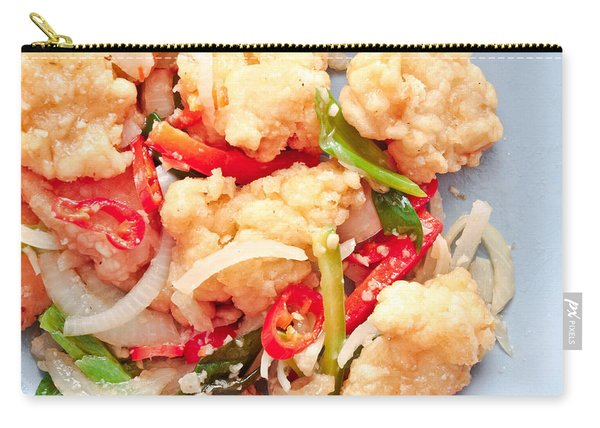 Fried Squid Carry-all Pouch