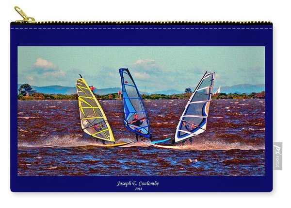 Friends Windsurfing Carry-all Pouch