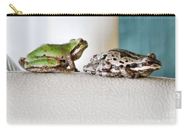 Frog Flatulence - A Case Study Carry-all Pouch