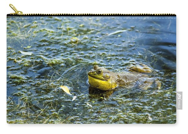 Frog Song Carry-all Pouch