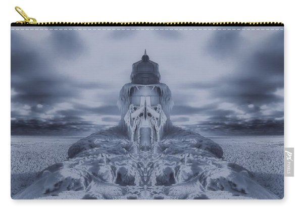 Frozen Dream On The Coast Carry-all Pouch