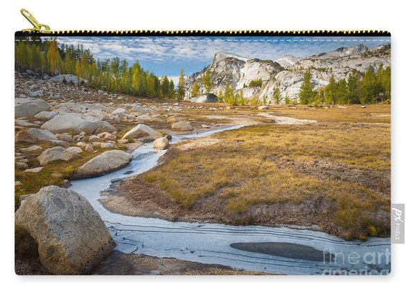 Frozen Enchantments Creek Carry-all Pouch