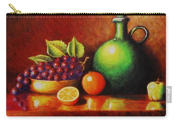 Fruit And Jug Carry-all Pouch