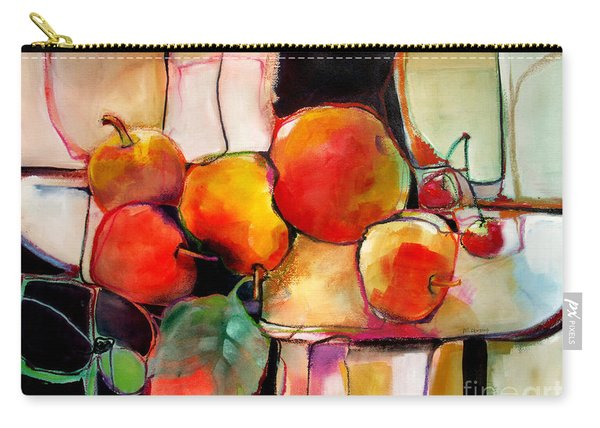 Fruit On A Dish Carry-all Pouch