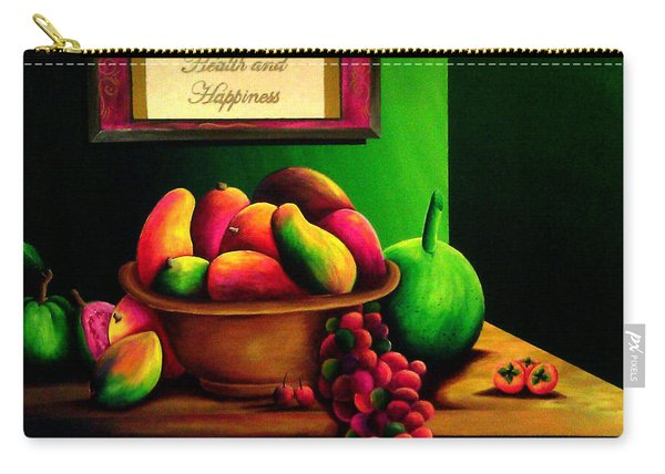 Fruits Still Life Carry-all Pouch