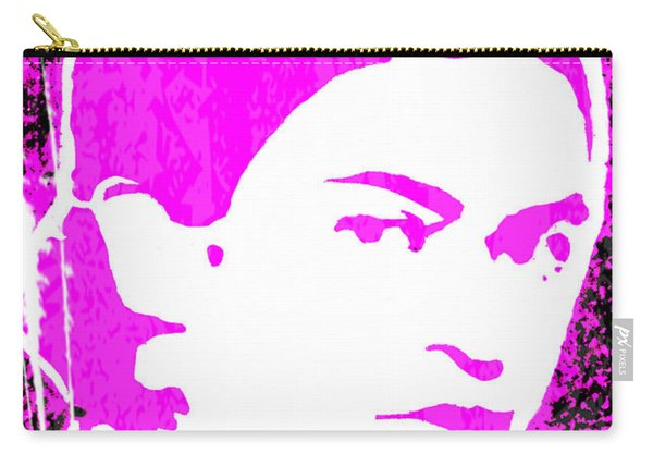 Fuchsia Frida Carry-all Pouch