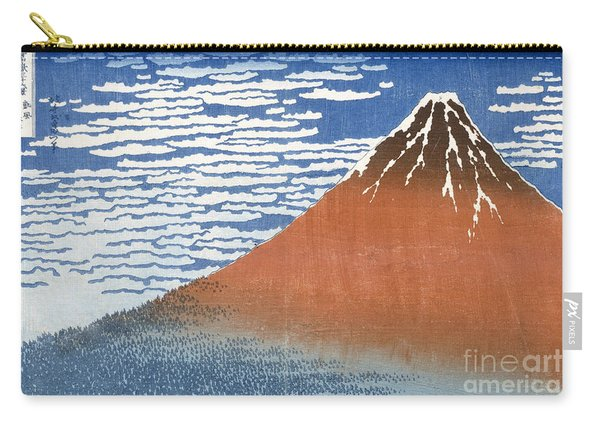Fuji Mountains In Clear Weather Carry-all Pouch