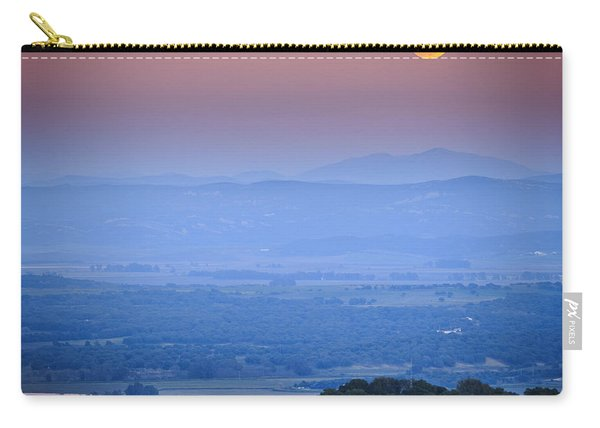 Full Moon Over Vejer Cadiz Spain Carry-all Pouch