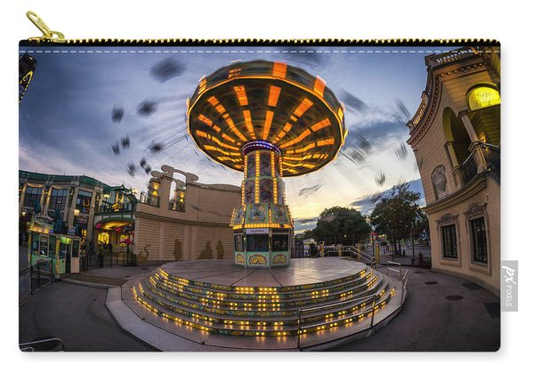 Fun Fair In The Night Carry-all Pouch