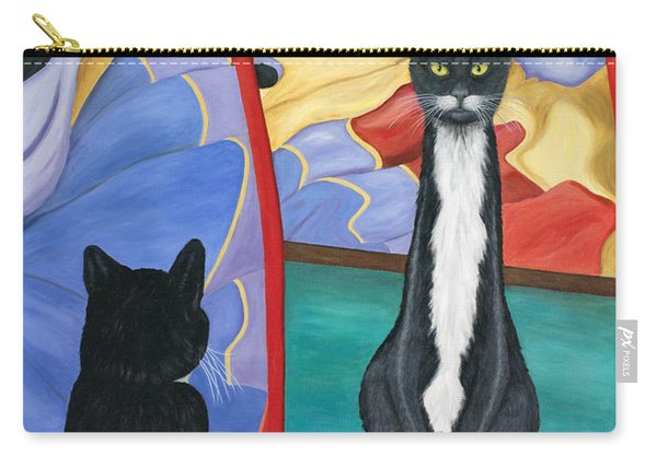 Fun House Skinny Cat Carry-all Pouch