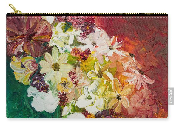 Fun With Flowers Carry-all Pouch